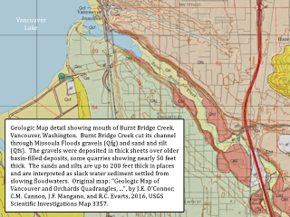 Image, 2018, Geologic Map detail, Burnt Bridge Creek, Vancouver, Washington, click to enlarge