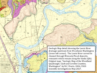 Image, 2018, Geologic Map detail, Lewis River, Woodland, Washington, click to enlarge