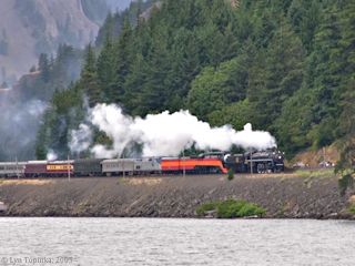 Image, 2005, SP&S 700 Excursion Train, click to enlarge