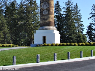 Image, 2005, Base of Astoria Column, Coxcomb Hill, click to enlarge