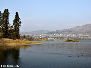 Image, 2004, Lyle, Washington, from Mayer State Park, Oregon, click to enlarge