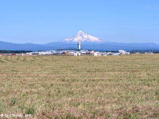 Image, 2003, Mount Hood, Oregon, and Portland International Airport, click to enlarge