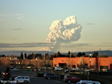 Images, 2005, Eruption plume