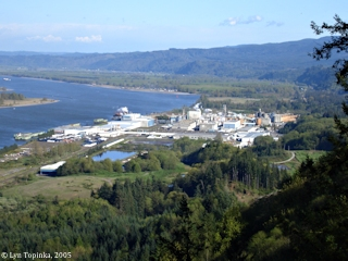 Image, 2005, Wauna, Oregon, as seen from Bradley State Wayside, click to large