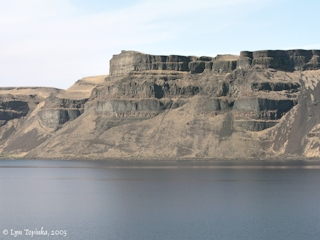 Image, 2003, Wallula Gap basalts, click to enlarge