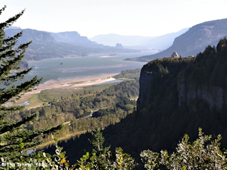 Image, 2004, Columbia River Gorge and Crown Point, click to enlarge