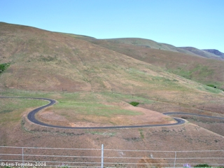 Image, 2004, Maryhill Loops, Washington, click to enlarge