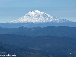 Image, 2004, Mount Adams, Washington, from Larch Mountain, click to enlarge