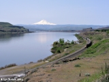 Image, 2004, Columbia River, Mount Hood, and Horsethief Butte