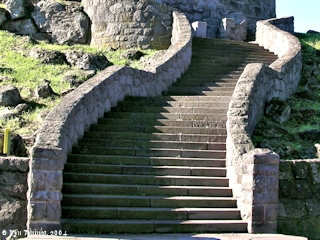 Image, 2004, Stairs, Rocky Butte, click to enlarge