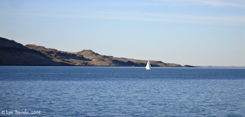 Image, 2005, Sailing, Wallula Gap, click to enlarge