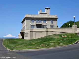 Image, 2005, Mount Hood and the Maryhill Museum, click to enlarge