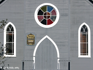 Image, 2005, St. Marys Church, detail, click to enlarge