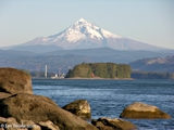Images, 2005, Mount Hood, Oregon, from Fishers Landing, Washington