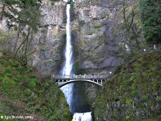Imag5, 2005, Multnomah Falls, Oregon, Benson Bridge, click to enlarge
