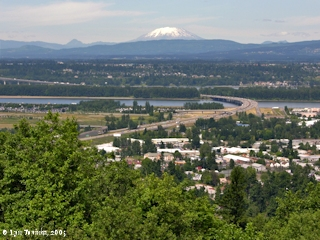 Image, 2005, View north from Rocky Butte, click to enlarge