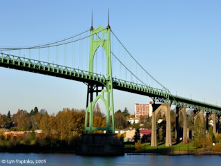 Image, 2005, St. Johns Bridge, click to enlarge