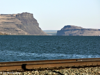 Image, 2005, Wallula Gap from Juniper Canyon, Oregon, click to enlarge