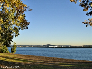Image, 2005, Wintler Park, looking towards Portland International Airport, click to enlarge