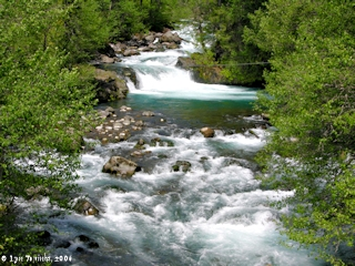 Image, 2006, Little White Salmon River, Washington, click to enlarge