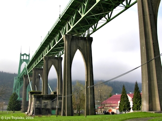 Image, 2006, St. Johns Bridge, click to enlarge