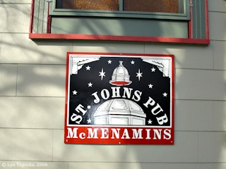 Image, 2006, St. Johns Pub, St. Johns, Oregon, click to enlarge