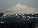 Images, 2007, Mount Hood, from Vancouver, Washington