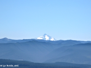 Image, 2008, Mount Jefferson, Oregon, from Larch Mountain, click to enlarge