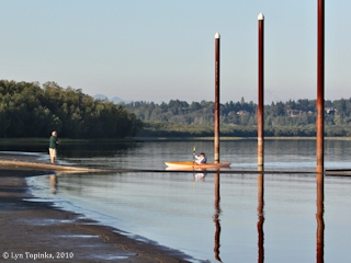 Image, 2010, Vancouver Lake, Washington,  click to enlarge