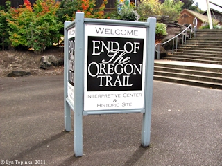 Image, 2011, End of the Oregon Trail, Oregon City, Oregon, click to enlarge