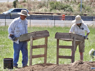 Image, 2011, Fort Vancouver, Archaeological Dig, Kanaka Village, click to enlarge