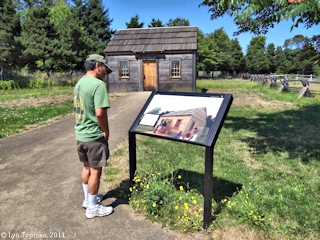 Image, 2011, Fort Vancouver, Kanaka Village, click to enlarge