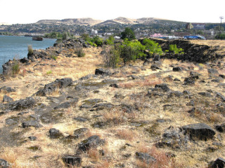 Image, 2011, Rock Fort, The Dalles, Oregon, click to enlarge