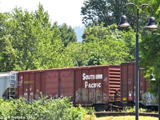 Image, 2011, Southern Pacific boxcar, click to enlarge