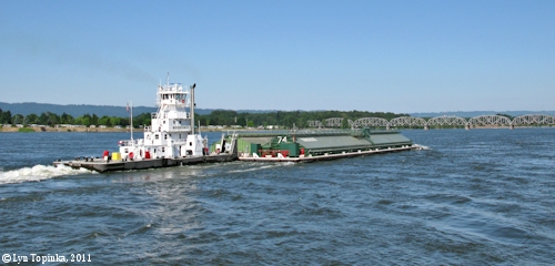 Image, 2011, View from Vancouver Landing, Vancouver, Washington, click to enlarge