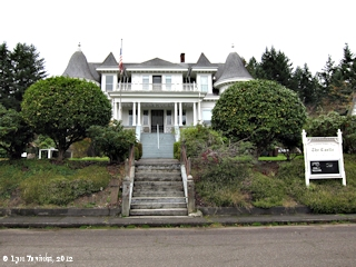 Image, 2012, Flippin House, Clatskanie, Oregon, click to enlarge