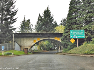 Image, 2013, Bonneville Dam, Historic Columbia River Highway, click to enlarge