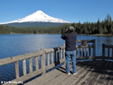 Image, 2013, Mount Hood as seen from Trillium Lake, click to enlarge