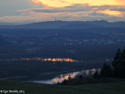 Image, 2013, Portland, Oregon, area, as seen from Mount Pleasant, Washington, click to enlarge