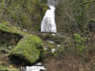 Image, 2013, Wahkeena Falls, click to enlarge