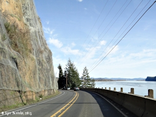 Image, 2013, Washington Highway 4, Stella, Washington, click to enlarge
