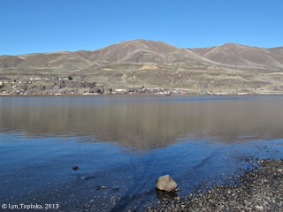 Image, 2013, Wishram from Celilo Park, Oregon, click to enlarge