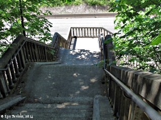 Image, 2014, Eagle Creek Staircase, click to enlarge