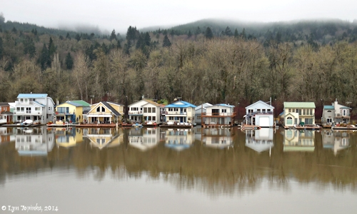 Image, 2014, Multnomah Channel from Sauvie Island, click to enlarge