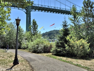 Image, 2015, Cathedral Park, St. Johns Bridge, Oregon, click to enlarge