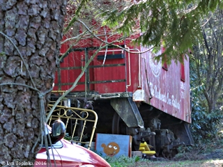 Image, 2016, SP&S Caboose near Heissen, Washington, click to enlarge