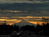 Images, 2016, Mount Hood, Oregon, from Washougal, Washington