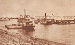 Penny Postcard, Kennewick, Washington, click to enlarge